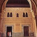 Alhambra Courtyard by Richard Thomas