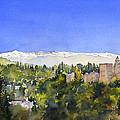Alhambra Granada by Margaret Merry