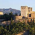Alhambra Palace - Panorama by Nathan Rupert