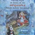 Alice Dream by Donine Wellman