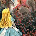Alice In Mushroom Acres by Luis  Navarro