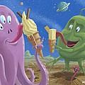 Alien Ice Cream by Martin Davey