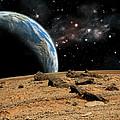 Alien Landscape No.10  by Marc Ward