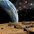 Alien Landscape No.10b by Marc Ward