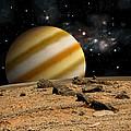 Alien Landscape No.7  by Marc Ward