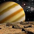 Alien Landscape No.7b by Marc Ward