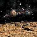Alien Landscape No.8  by Marc Ward