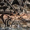 Alien Petroglyph by Judi Suni Hall