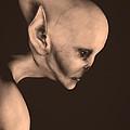 Alien Portrait  by Bob Orsillo
