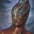 Alien Portrait I by Ricardo Chavez-Mendez