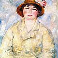Aline by Pierre Auguste Renoir