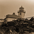 Alki Lighthouse by Cathy Anderson