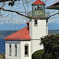 Alki Lighthouse by E Faithe Lester