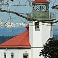Alki Lighthouse II by E Faithe Lester
