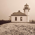Alki Point Lighthouse by Cathy Anderson