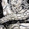 Alkyoneus - Detail No. 1 by Steve Bogdanoff