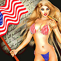 All American Girl - Independence Day by Alicia Hollinger