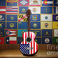 All State Flags by Bedros Awak