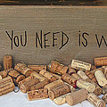 All You Need Is Wine by Dave Mills