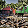 Allaire Rail Yard by Heather Applegate