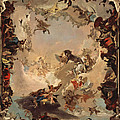 Allegory Of The Planets And Continents by Giovanni Battista Tiepolo