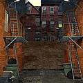Alley At Dusk by Luis De la Fuente
