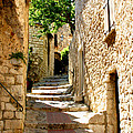 Alley In Eze, France by Holly C. Freeman