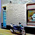 Alley In Venlo by Jeffrey Hamilton