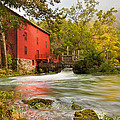 Alley Spring Mill - Eminence Missouri by Gregory Ballos
