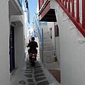 Alley Way In Mykonos by Pema Hou