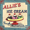 Allie's Ice Cream by Debbie DeWitt