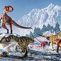 Allosaurus Pack by Daniel Eskridge