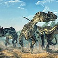 Allosauruses by Daniel Eskridge