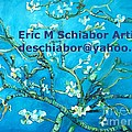 Almond Blossom Branches by Eric  Schiabor
