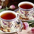 Almond Tea For Two by Iris Richardson