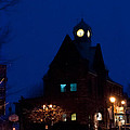 Almonte Ontario At Night by Cheryl Baxter