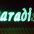 Almost Paradise Neon Sign by Barbie Corbett-Newmin