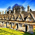 Almshouses by Ron Harpham