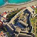 Almunecar Castle From The Air by Guido Montanes Castillo