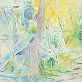 Aloes At Villa Ratti by Berthe Morisot