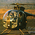 Aloha  Oh-6 Cayuse Light Observation   Helicopter Lz Oasis Vietnam 1968 by California Views Mr Pat Hathaway Archives