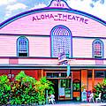 Aloha Theatre Kona by Dominic Piperata
