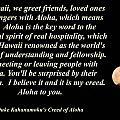 Aloha To You by Pharaoh Martin