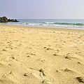 Alone At Bolonia Beach by Guido Montanes Castillo