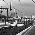 Alone In Railtracks by Sanjeewa Marasinghe