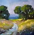 Along A Country Road by Nancy Merkle