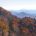 Along The Blue Ridge Parkway  N C by Cheryl Birkhead