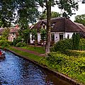 Along The Canal. Giethoorn. Netherland by Jenny Rainbow