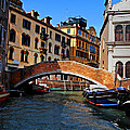 Along The Canals Of Venice by Bill Cannon
