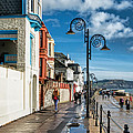 Along The Promenade - Lyme Regis by Susie Peek